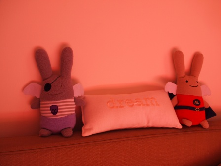 Ange Lapin pirate & Super Ange Lapin by Trousselier
