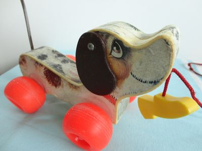 Chien vintage FISHER PRICE