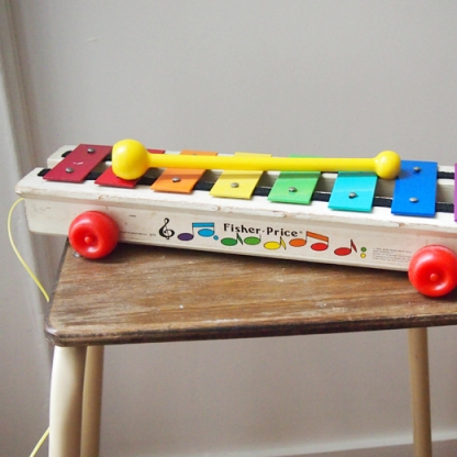 Xylophone FISHER PRICE @ Les moustachoux