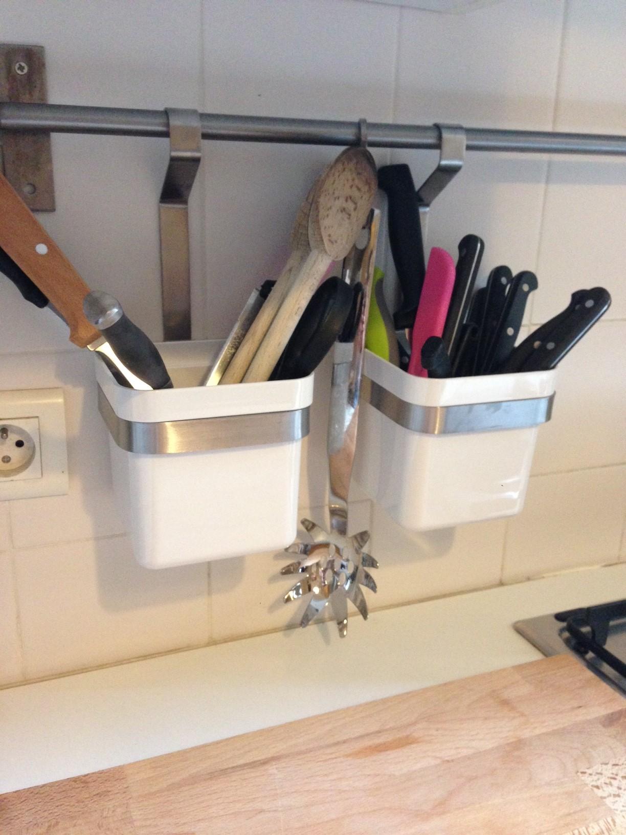Ikea cuisine accessoires muraux organisation de la for Accessoires pour la cuisine